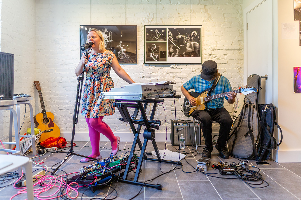 Mt. Pleasant: The Social Power of Music - Janel Leppin and Nathony Pirog at Lost Origins Gallery