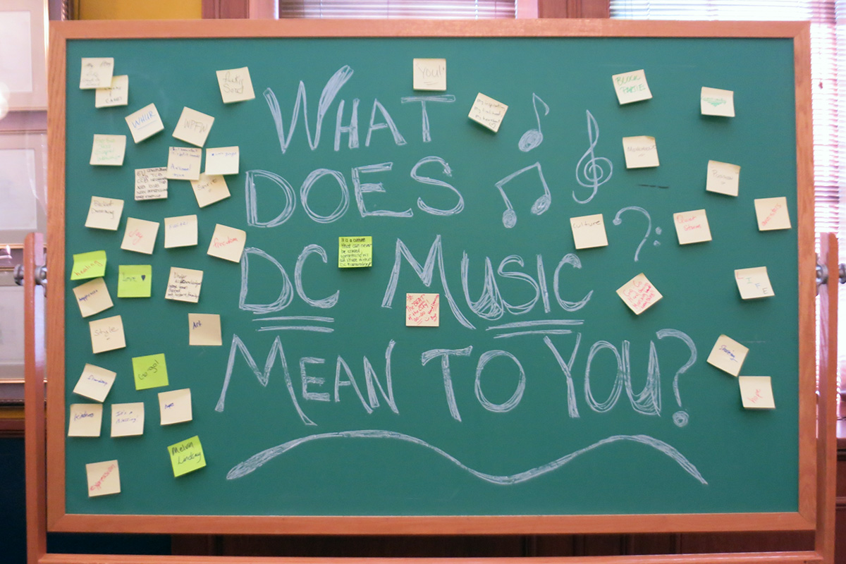 What Does DC Music Mean to You?