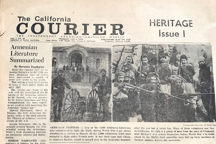 The California Courrier
