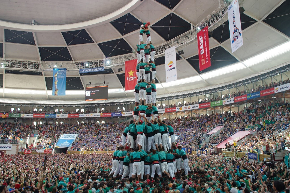 Human towers from Catalonia