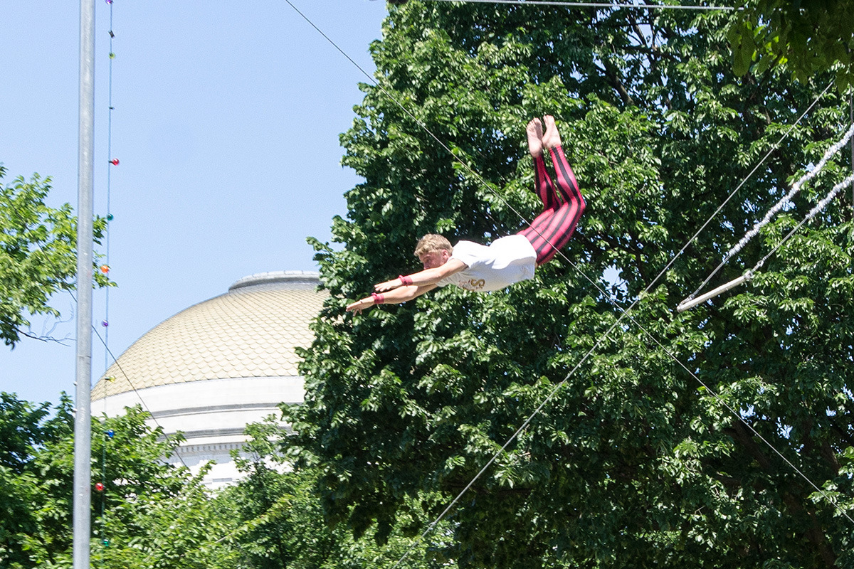 Wenatchee flying trapeze