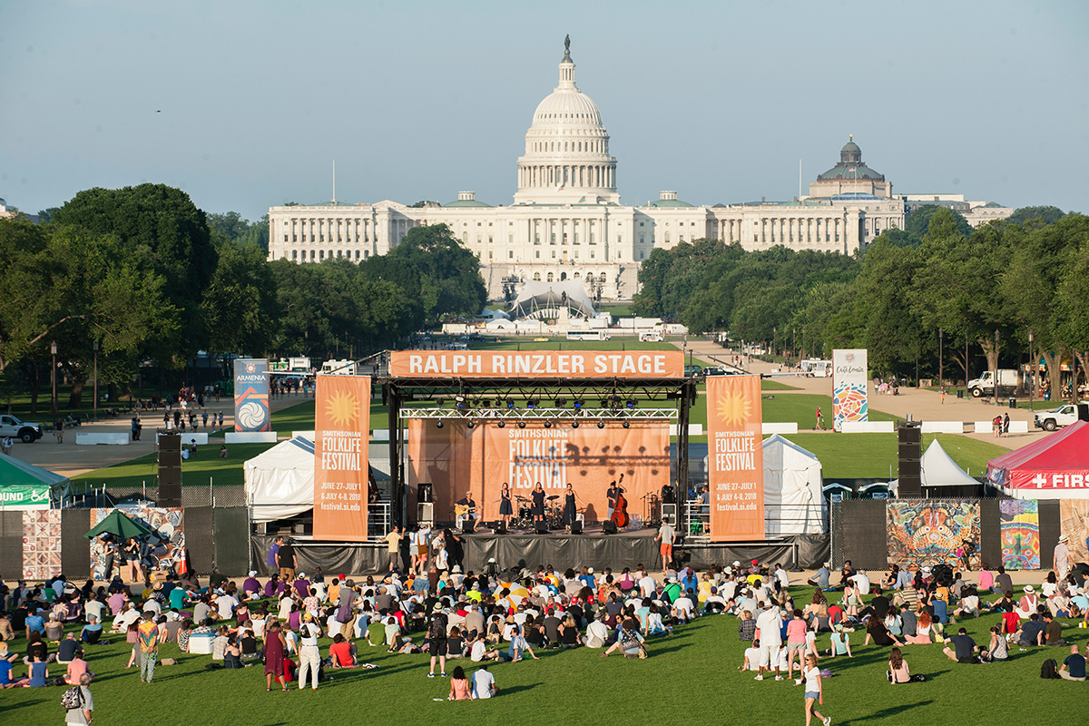 June 30 at 2018 Smithsonian Folklife Festival