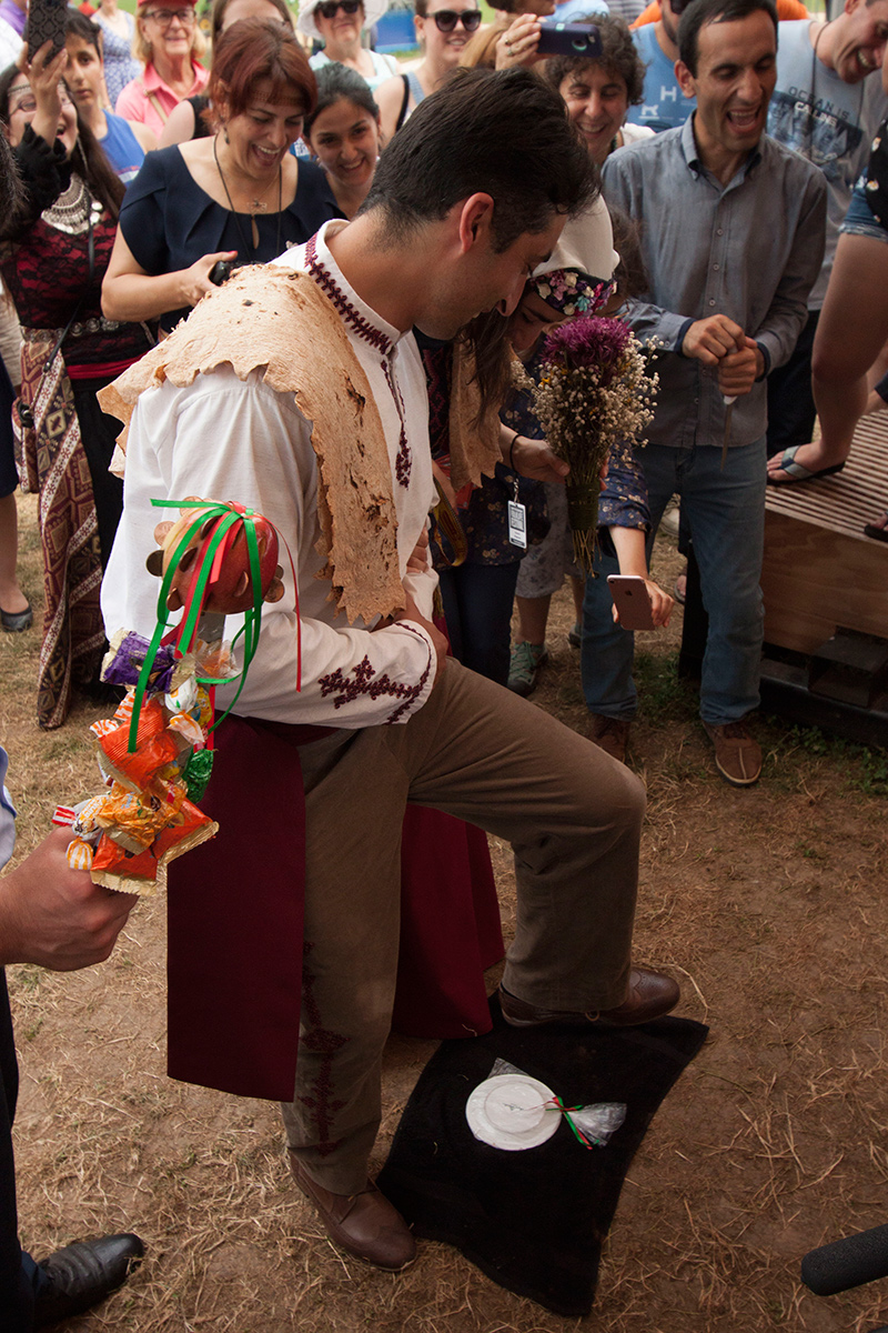 Armenian wedding ceremony at the 2018 Smithsonian Folklife Festival