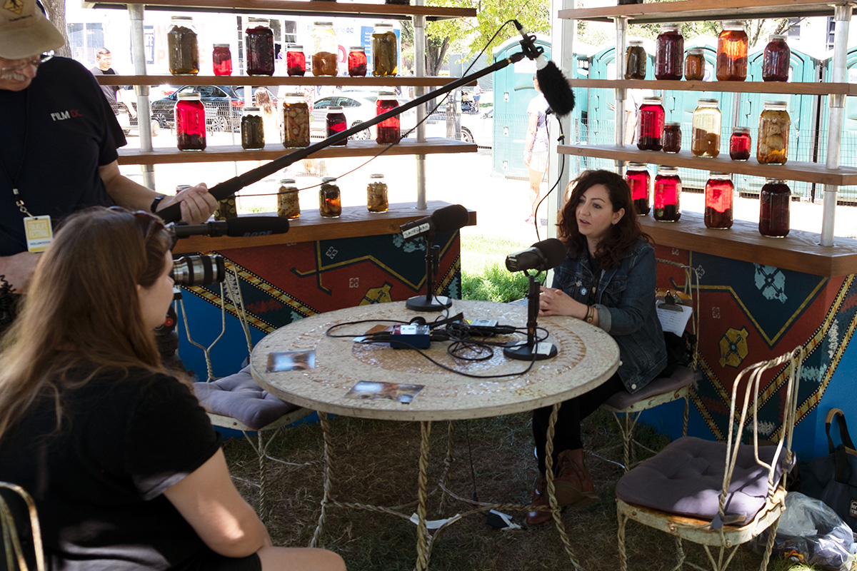 Liana Aghajanian at the 2018 Smithsonian Folklife Festival