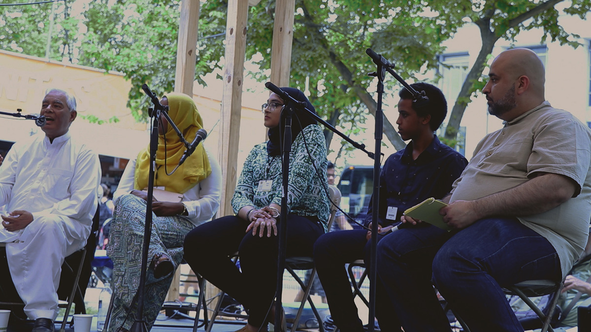 American Muslim panel at the 2017 Folklife Festival