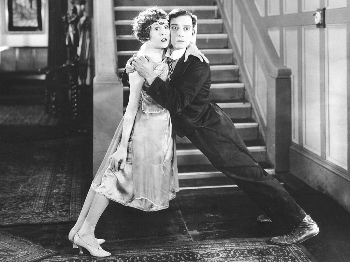 Buster Keaton and Virginia Fox