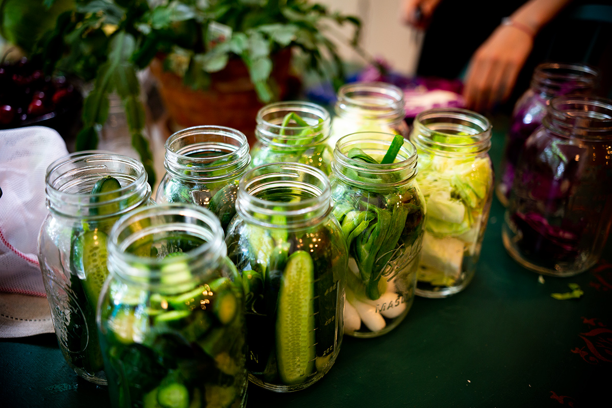 Armenian pickling party