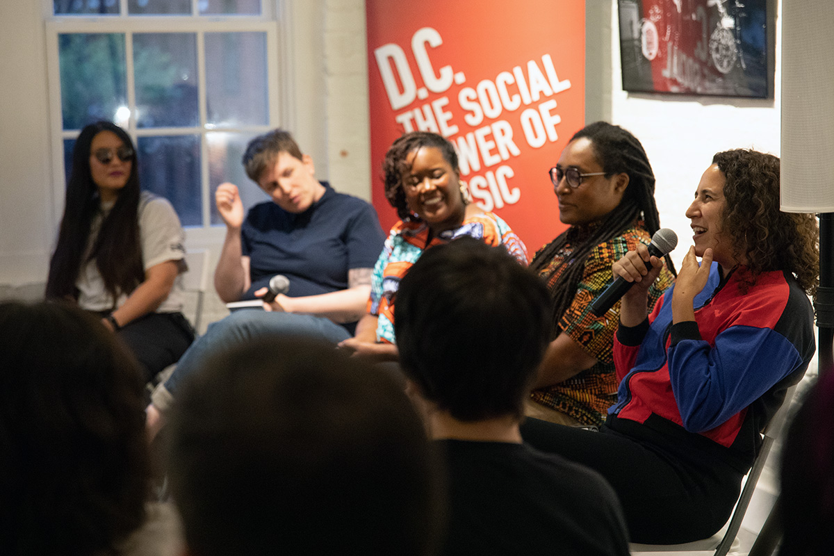 Women DJ Collectives in D.C. panel discussion