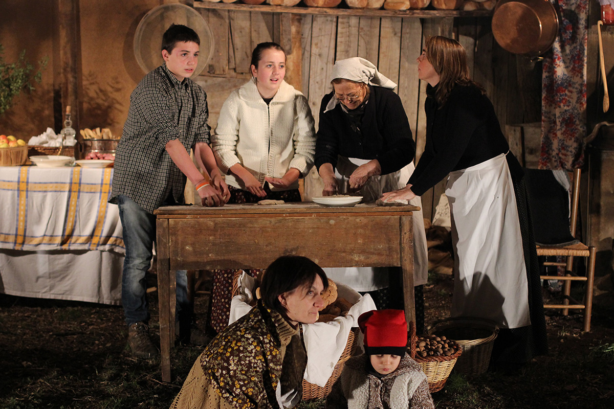 Living Nativity Scene of Joanetes