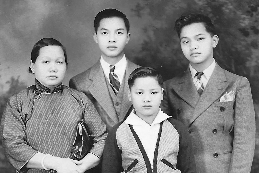 Ted Gong family photo