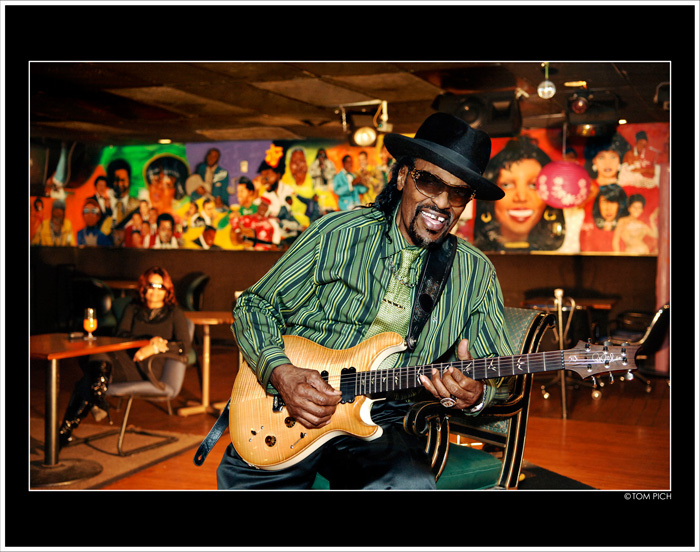 Chuck Brown, ca. 2005. Photo by and courtesy of Tom Pich