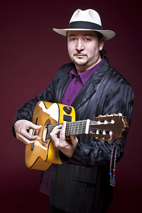 István Nagy, of the Karavan Familia, will sing and play guitar, tamboura, and blues harmonica.