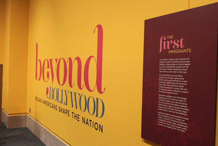 Beyond Bollywood entrance. Photo by Sameen Piracha, Smithsonian Asian Pacific American Center