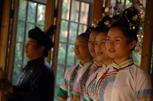 Dimen Dong Folk Chorus. Photo courtesy of the Dimen Dong Cultural Eco-Museum