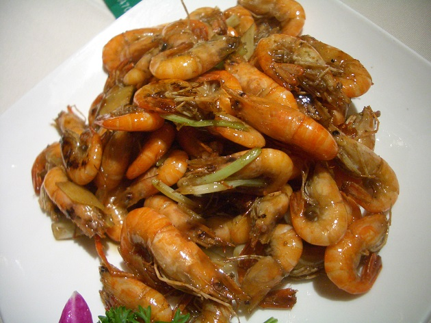 Shrimp Stir Fried in Soy Sauce. Photo courtesy of Flickr user Christopher Augapfel