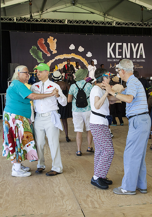 Hitting the Ngoma dance floor with Kenge Kenge.