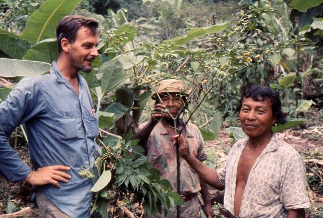 Dr. Duke in May 1968 during his field work in Darien, Panama. Photo by Dr. Joe Kirkbride