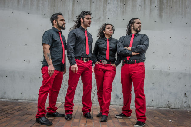 Los Angeles-based Viento Callejero will perform at this year's Ralph Rinzler Memorial Concert. Photo by Farah Sosa