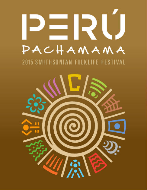 Perú: Pachamama icon poster, designed by Josué Castilleja and Zaki Ghul