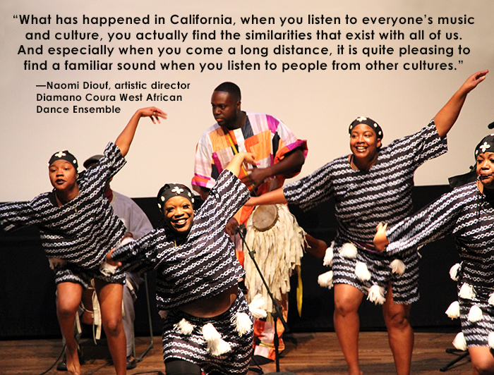 Diamano Coura West African Dance Company