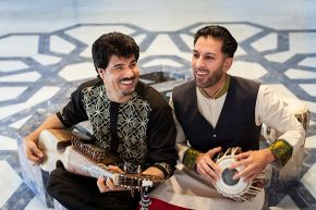 Homayoun Sakhi and Salar Nader. Photo courtesy of Aga Khan Music Initiative
