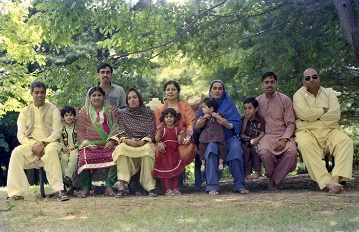 The Rahman family celebrates Eid in 1983. Photo courtesy of Sabir Rahman